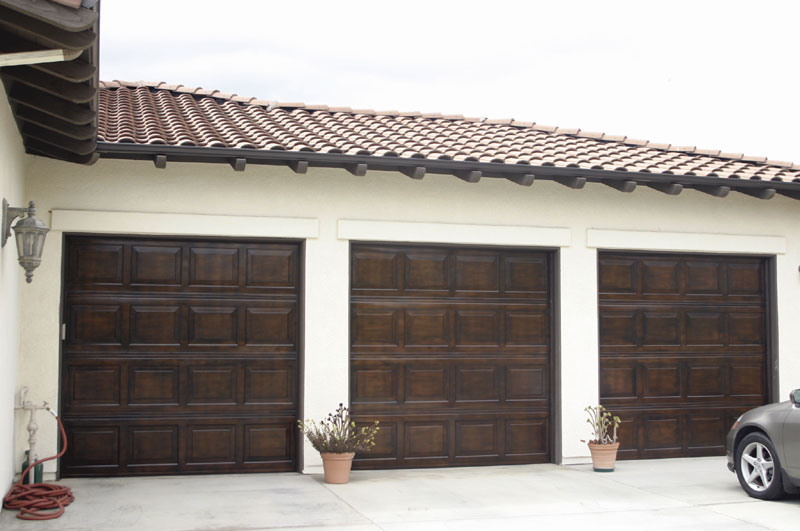 Faux garage doors for Faux wood garage doors prices