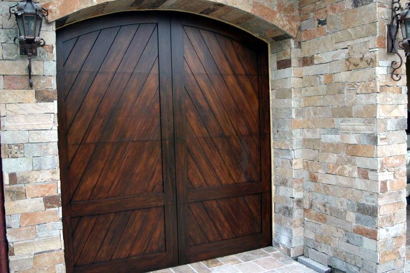 Faux garage doors for Faux wood garage door