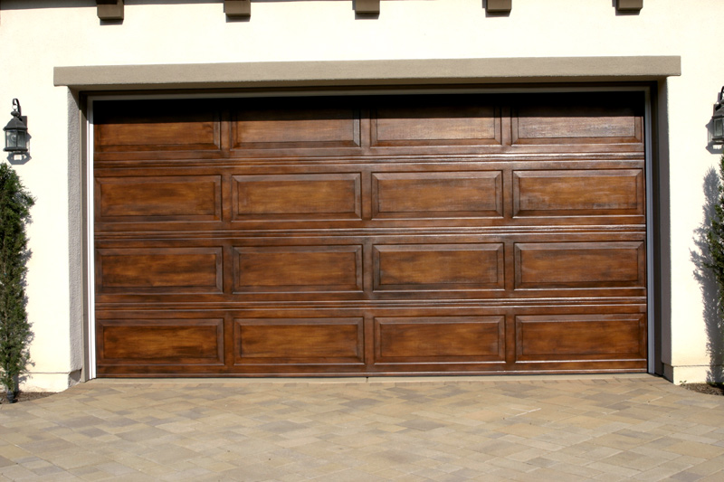 Faux garage doors for Fake wood garage doors